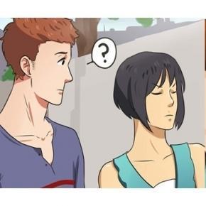 Existem muitas perguntas que seu namorado gostaria de fazer (Foto - WikiHow)