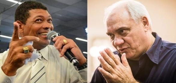 Valdemiro Santiago cita Marcelo Rezende durante culto