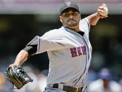 #3 Johan Santana, New York Mets
