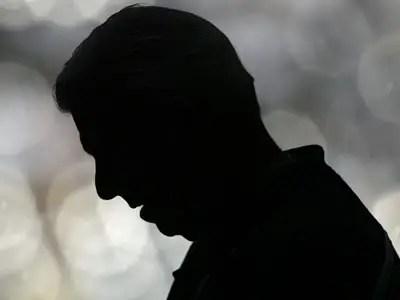 Silhouette of Daniel Brown