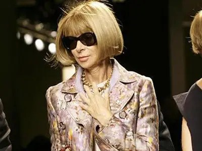Anna Wintour, editor-in-chief, Vogue