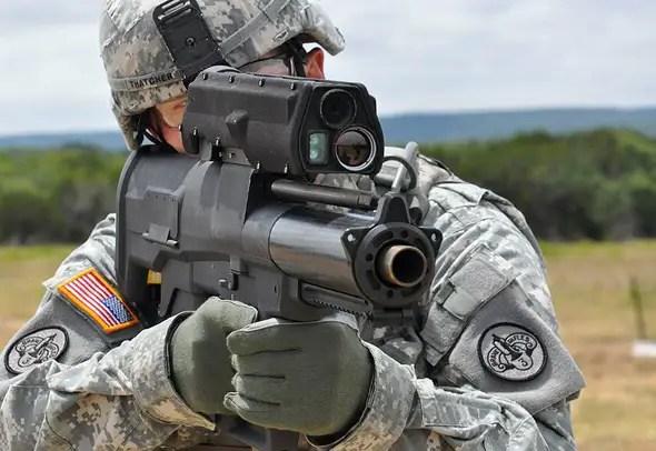 XM25 Indywidualne Airburst Weapon System (IAWS)