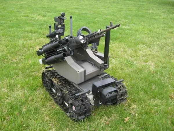 MAARS Robot (Armed Robotic Modułowy system zaawansowane)