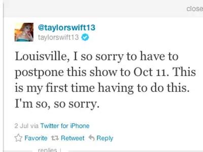 Taylor Swift, pop star: iPhone