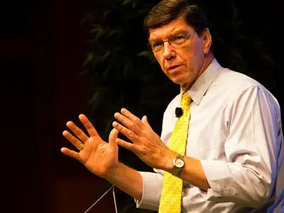 Clayton Christensen, Harvard Business School professor