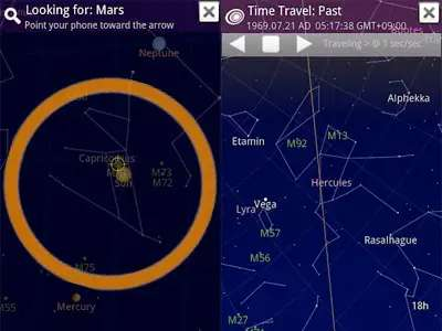 Google Skymap lets you know exactly which star you're staring up at.