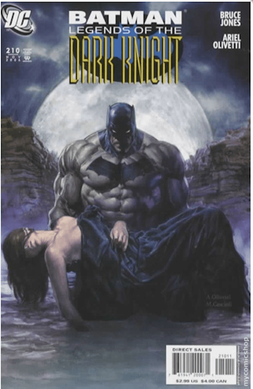 Legends of the Dark Knight, DC Comics Cover