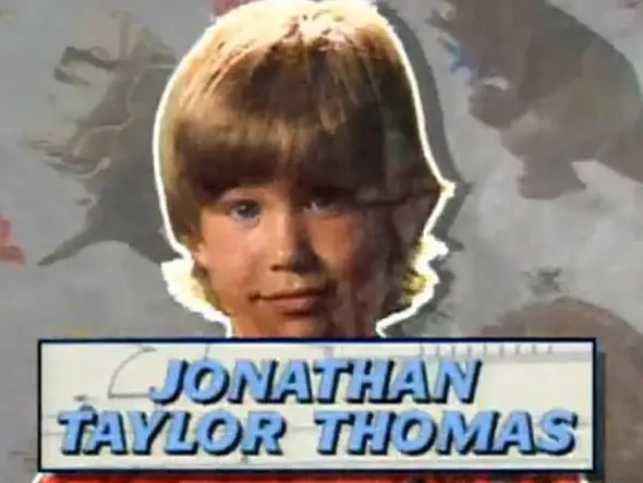 Jonathan Taylor Thomas was THE child star of the 90's. He acted in Full House, the Lion King and Tom and Huck.