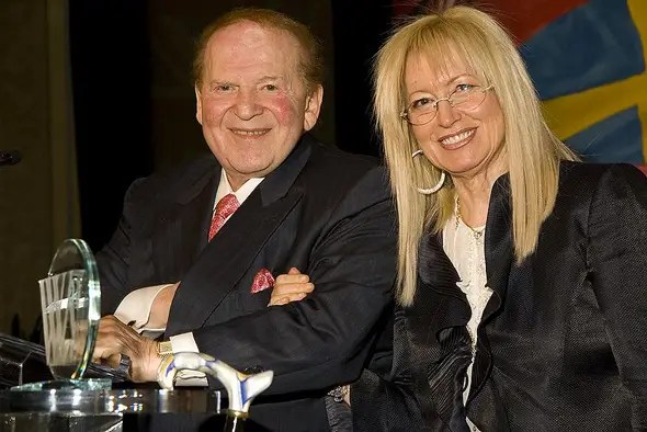 Now, Adelson donates generously to Jewish organizations.