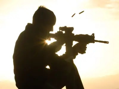 Afghan Commando Marine