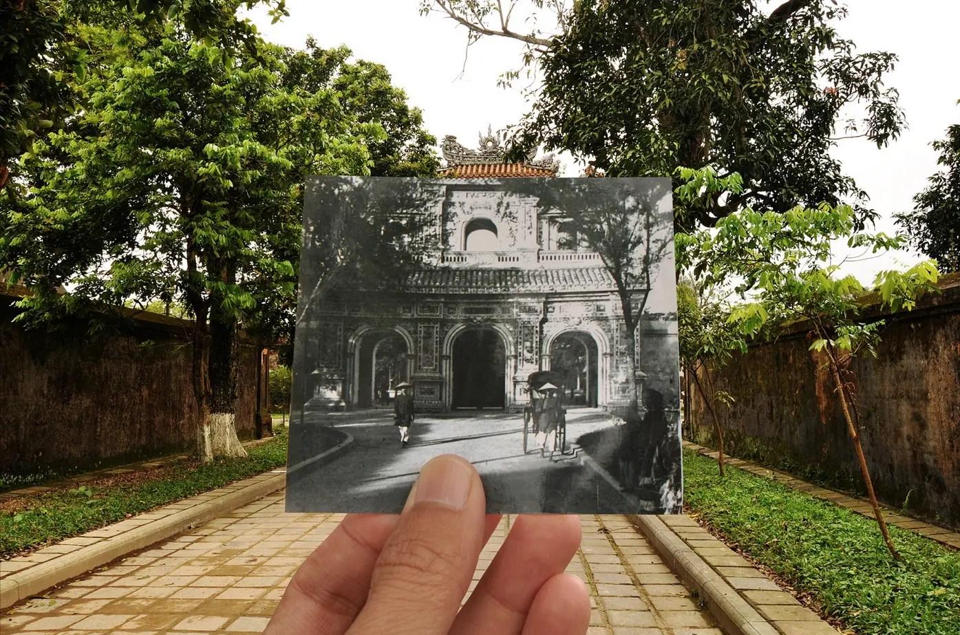 Hiển Nhơn gate, Huế 1920s