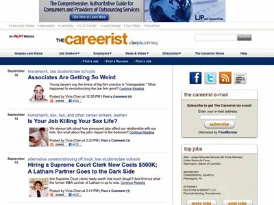 9) The Careerist