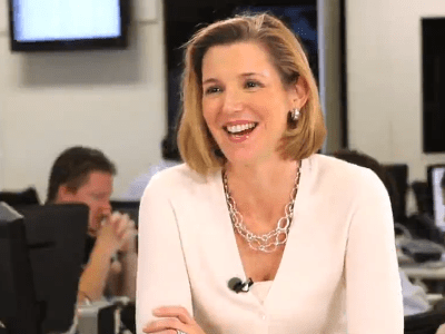 Sallie Krawcheck, former President of Merrill Lynch, US Trust, Smith Barney