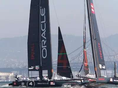 Ellison owns his own America's Cup racing team