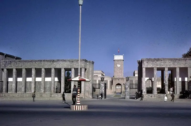 Unlike current roads in Afghanistan, roads in the 60s were well kept and generally free of wear and tear.