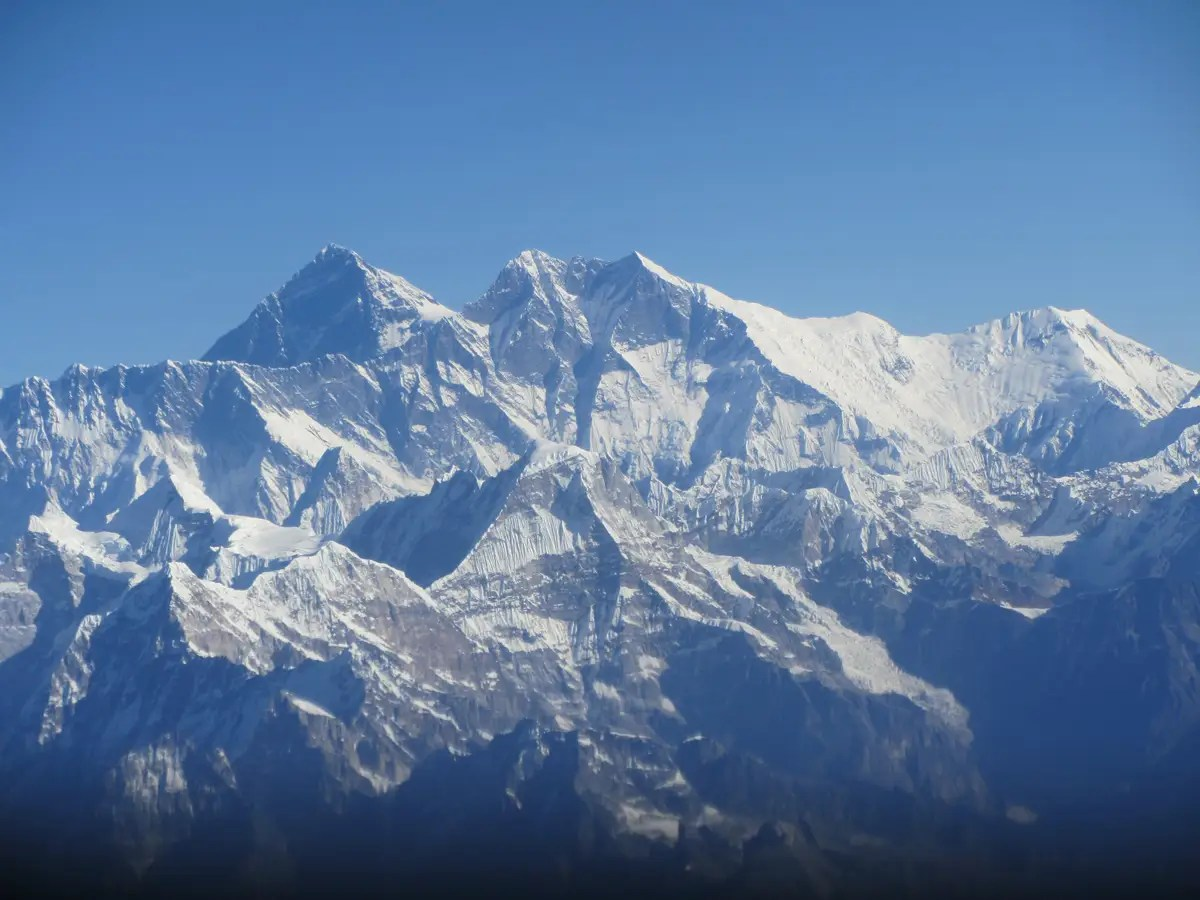 Breathe in the fresh air at Mt. Everest.