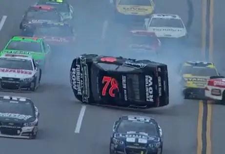 Kurt Busch, NASCAR Crash
