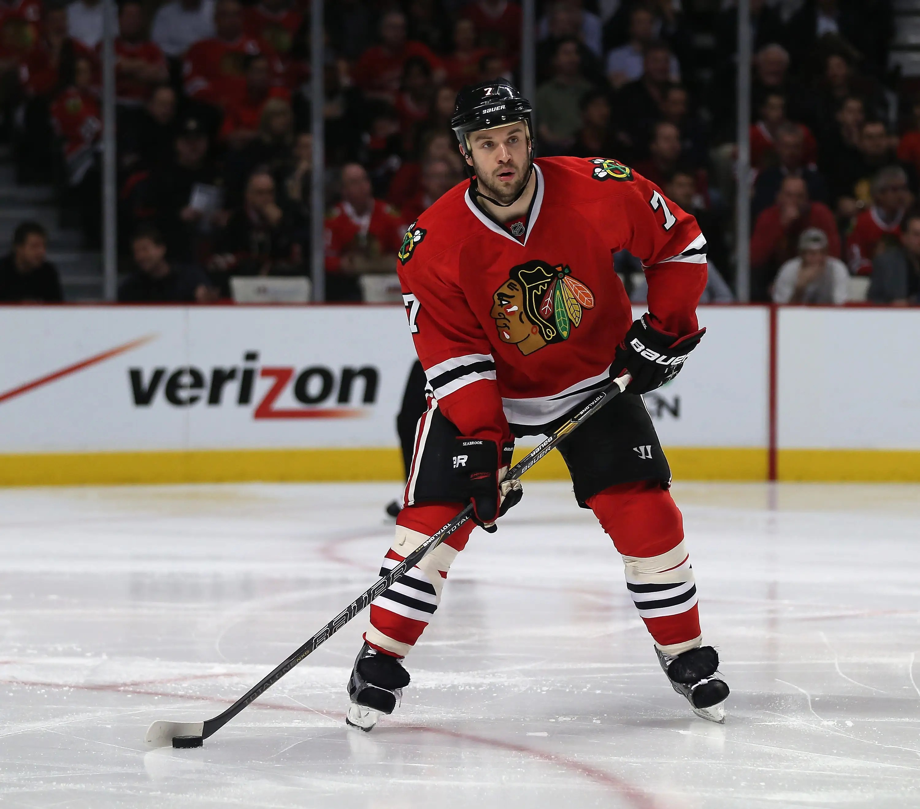 Brent Seabrook of the Chicago Blackhawks