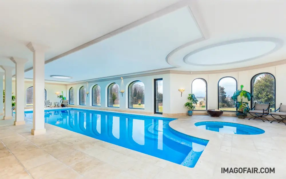 The indoor pool and hot tub aren't too shabby either.