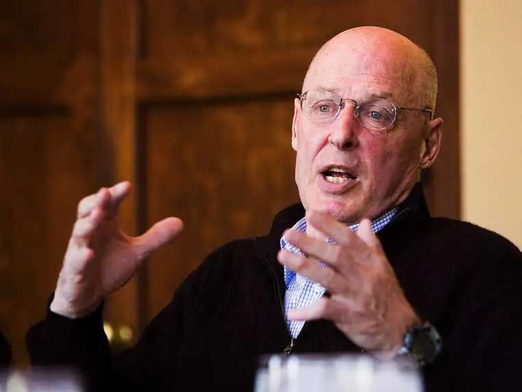 OCT 13, 2008: Treasury Secretary Hank Paulson sits down with 9 major bank CEOs. When they leave the room hours later, the federal government has taken a huge equity position in Wall Street. The total bailout package looks more like $2.25 trillion, well more than the original $700 billion available.