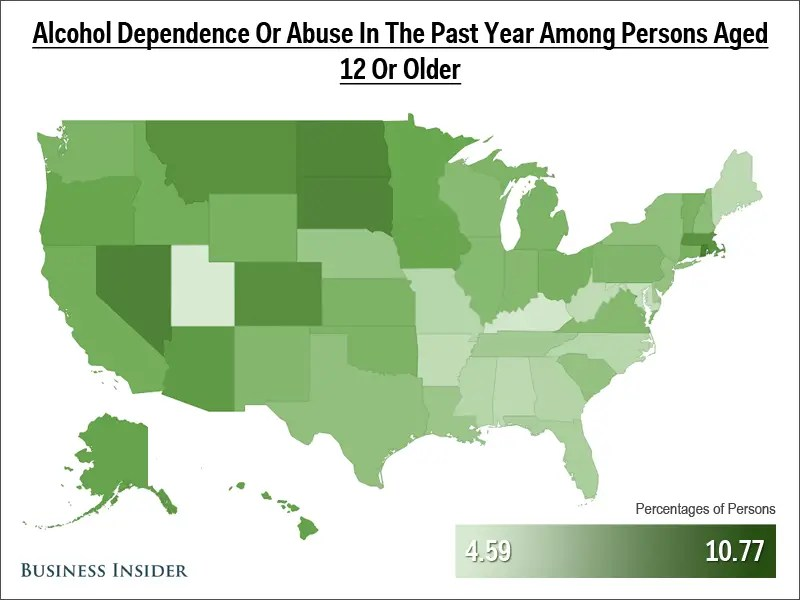 14_Alcohol Dependence or Abuse Past Year