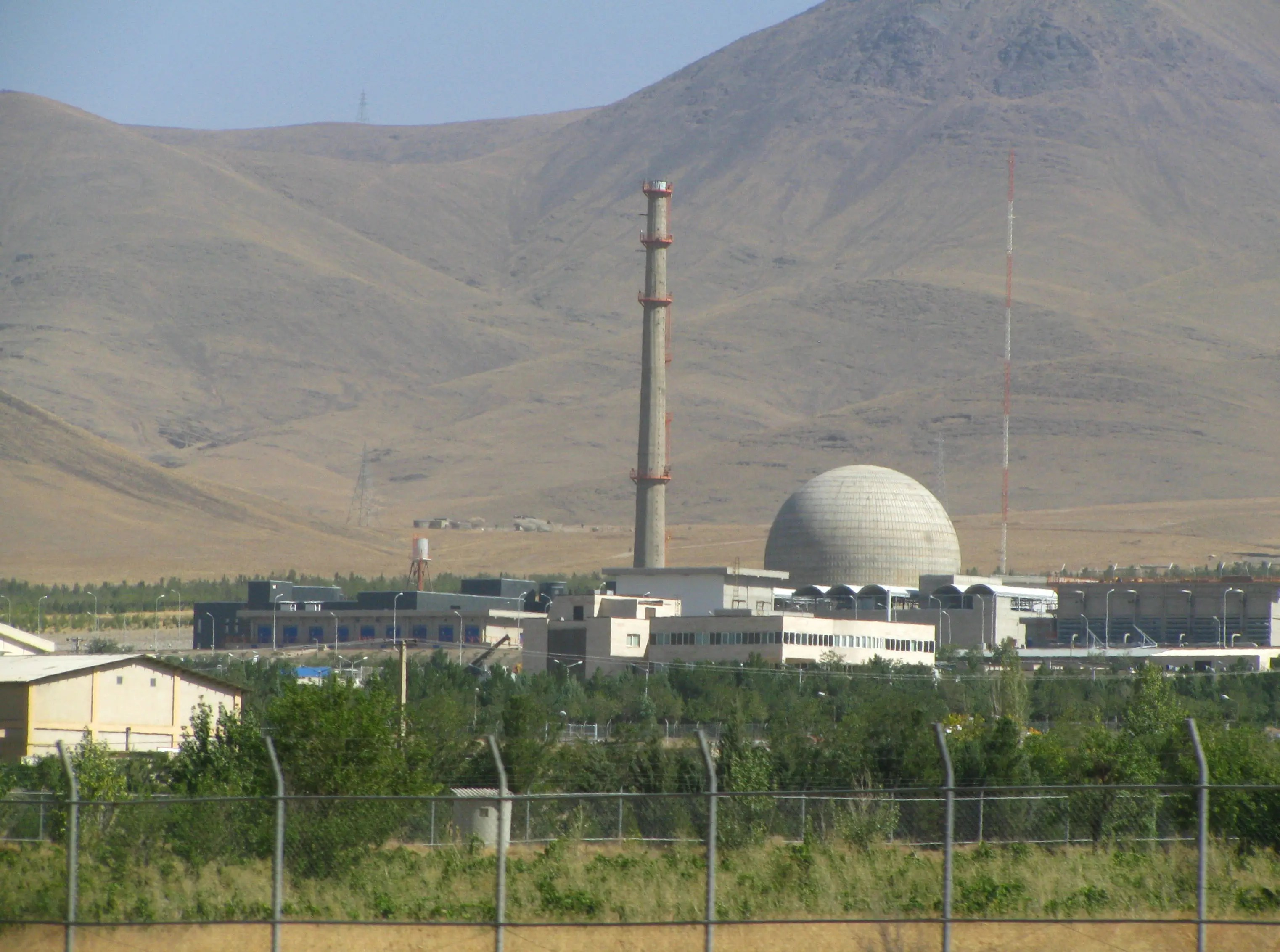 Arak Heavy Water Reactor Iran plutonium