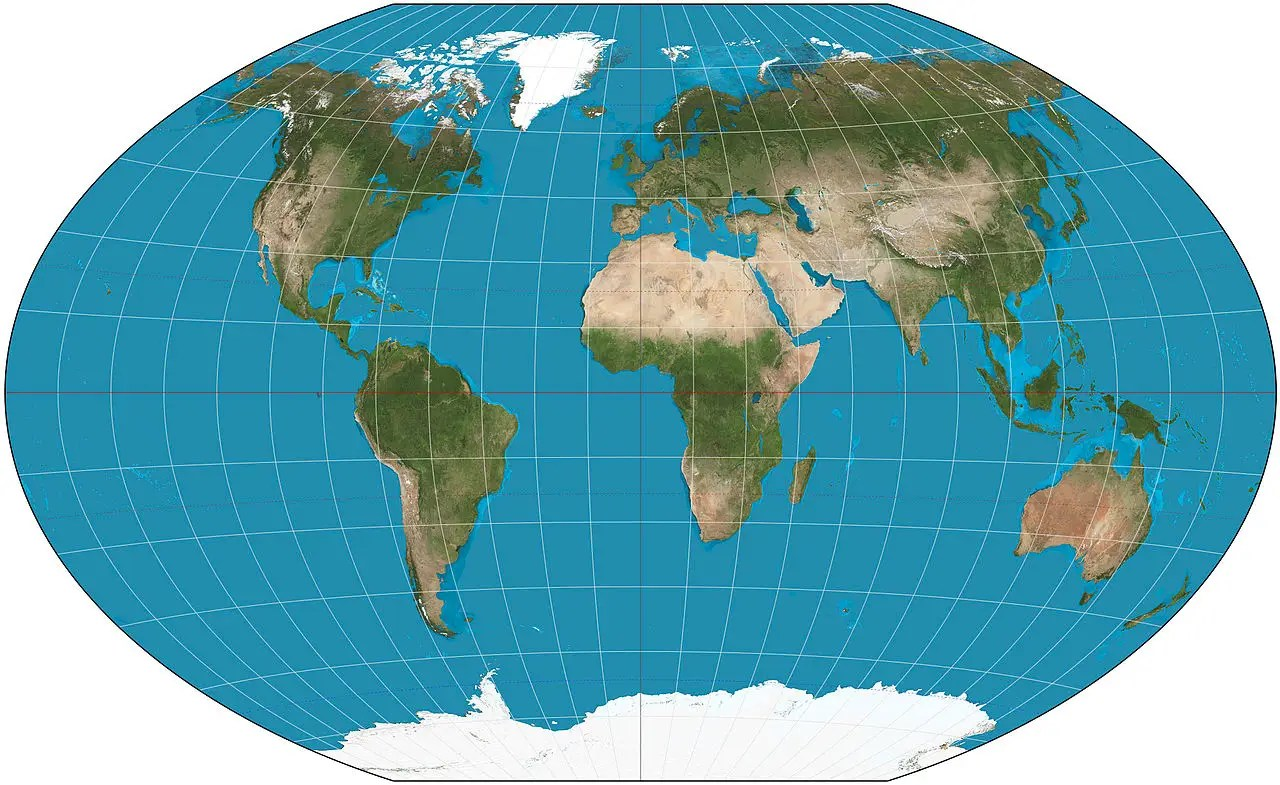Image result for images of mercator map projections