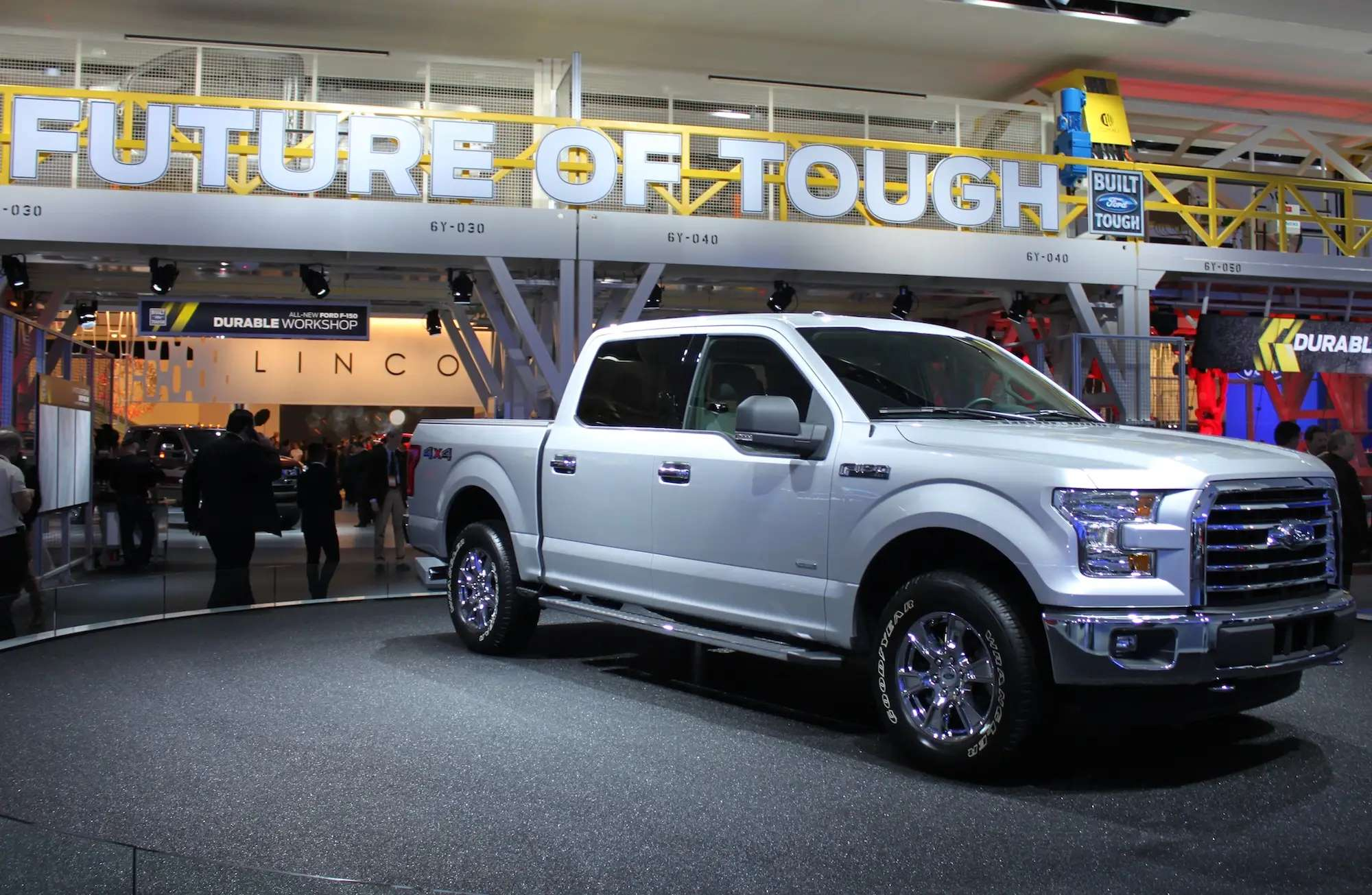 The new Ford F-150 isn't the sleekest ride in Detroit, but it's the most important. A perennial best-seller, the upgraded pickup truck comes with an aluminum body that cuts weight and improves fuel economy. But this is no weakling — Ford promises it's the