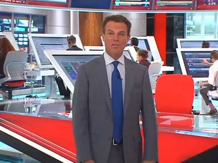 Shepard Smith works on TV, but relies on the websites of the New York Post and New York Times.