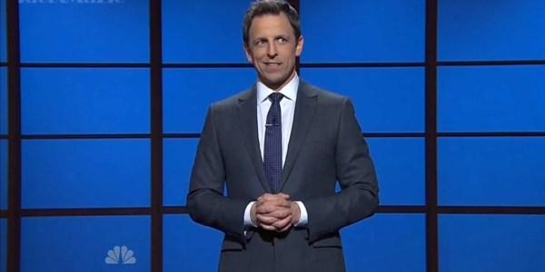 Seth Meyers' First 'Late Night' Monologue - Business Insider