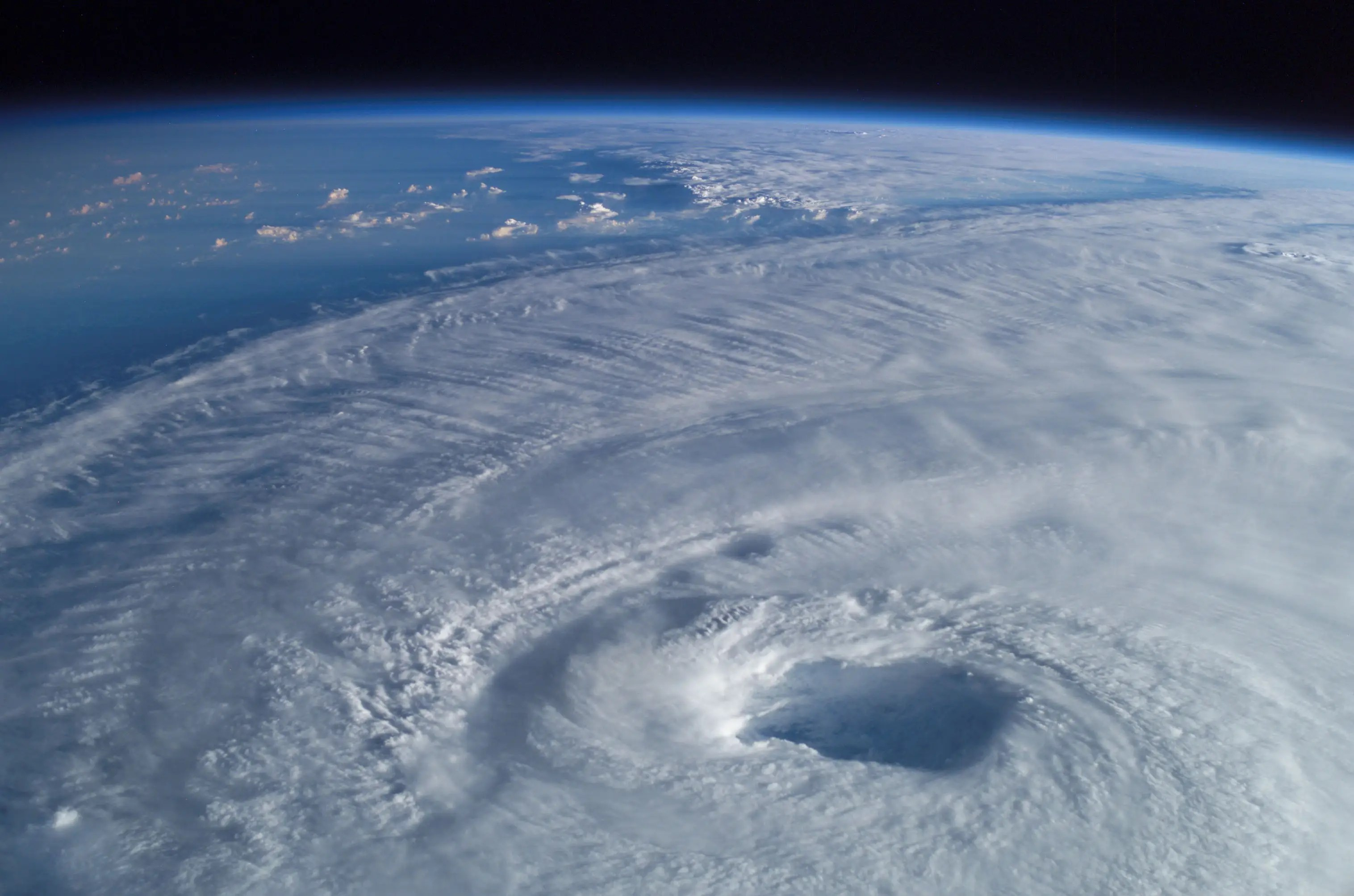 Hurricane Isabel from space