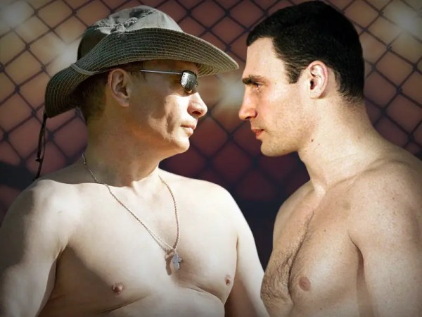 Who Would Win Putin Klitschko Fight - Business Insider