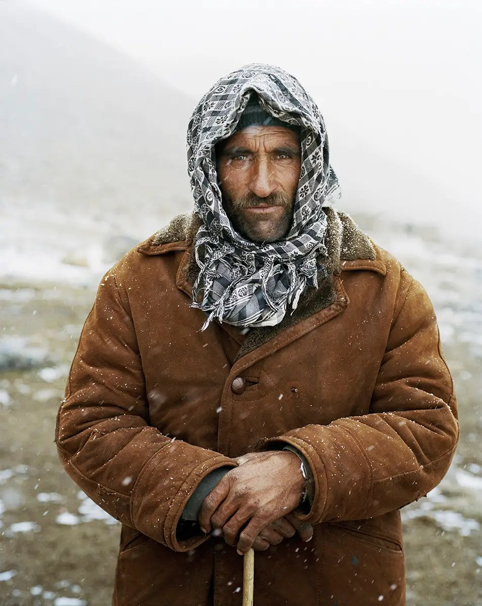 "At the village, they met Burch Mirzo, a farmer who lead Lagrange's expedition. Lagrange described him as ""soft-spoken and kind, with an incredible resistance to cold and pain."""