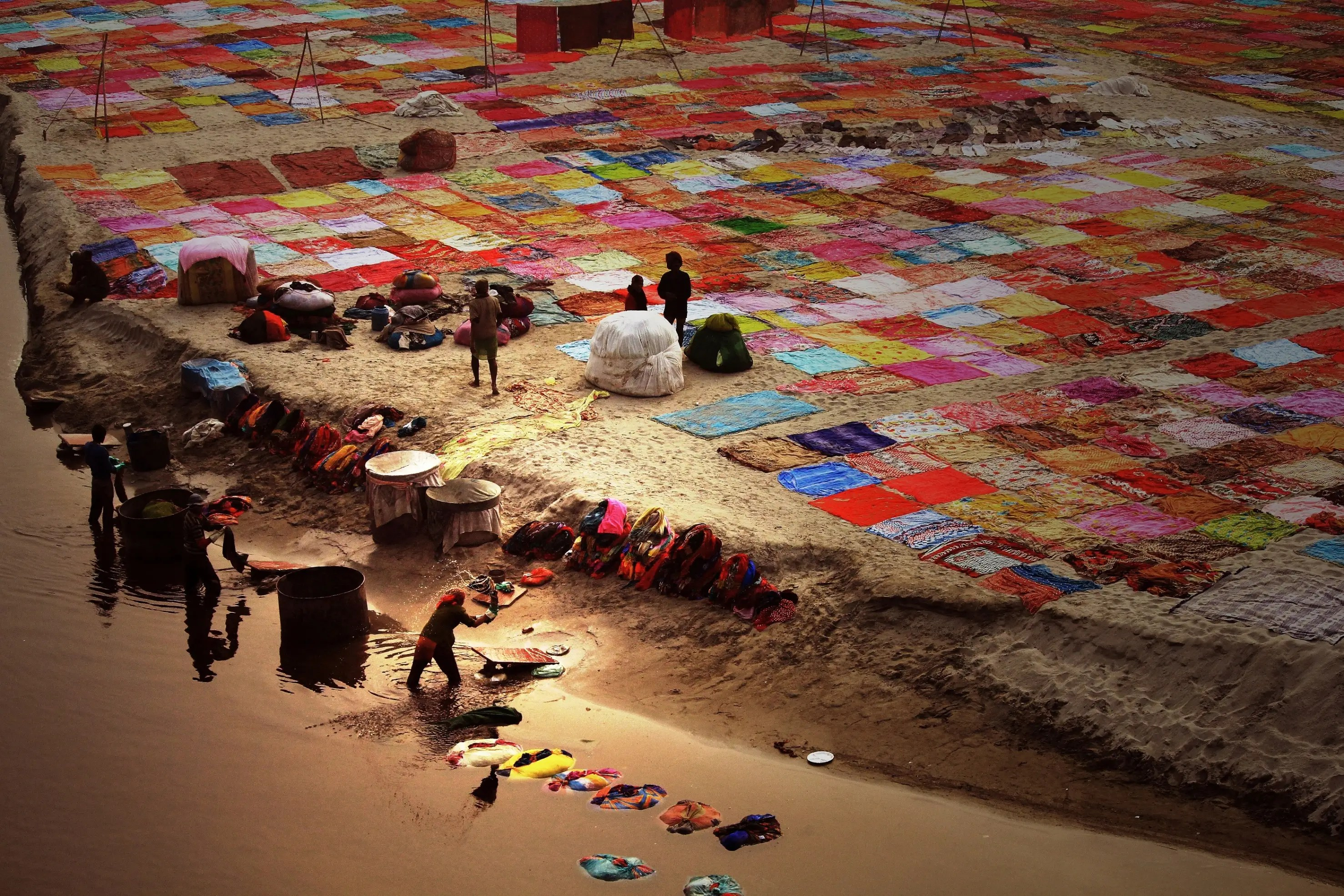 """India: """"Colorful India"""" by Bisheswar Choudhury"""