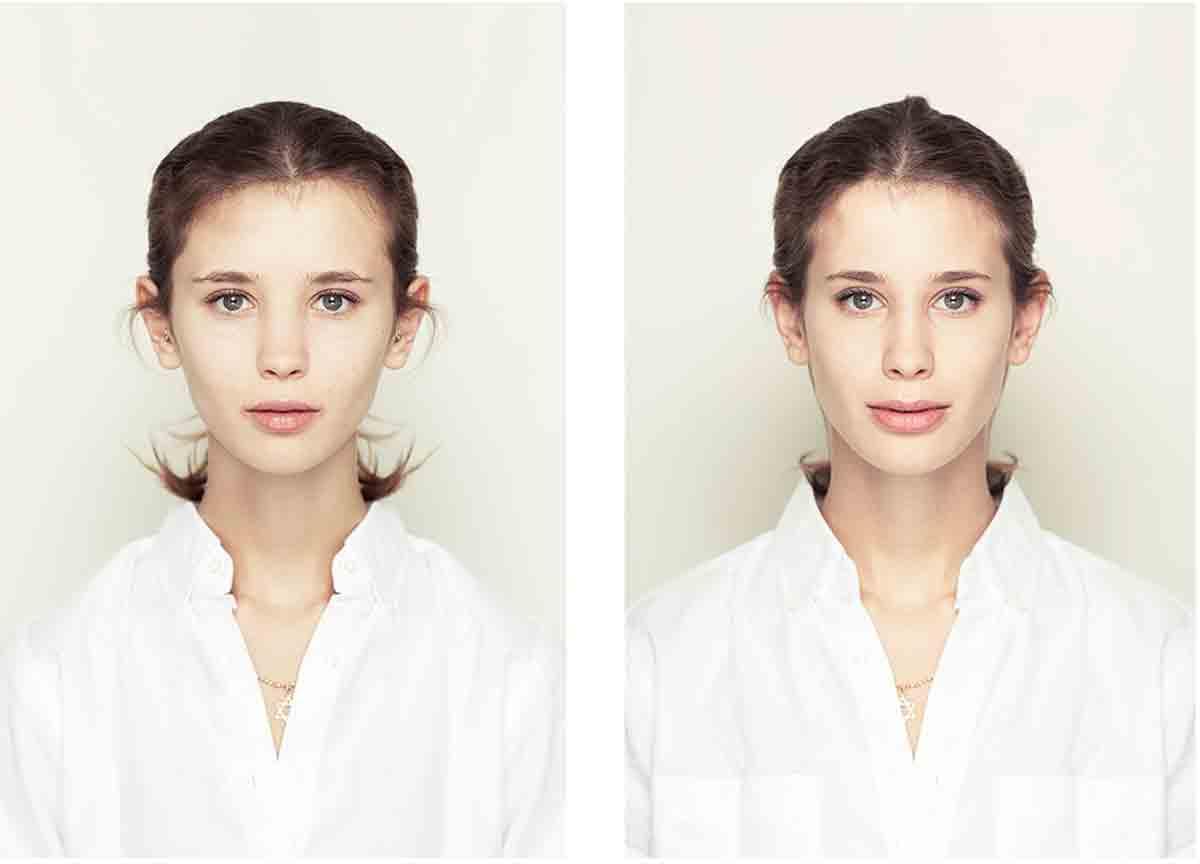 Alex John Beck S Photos Of Symmetrical Faces