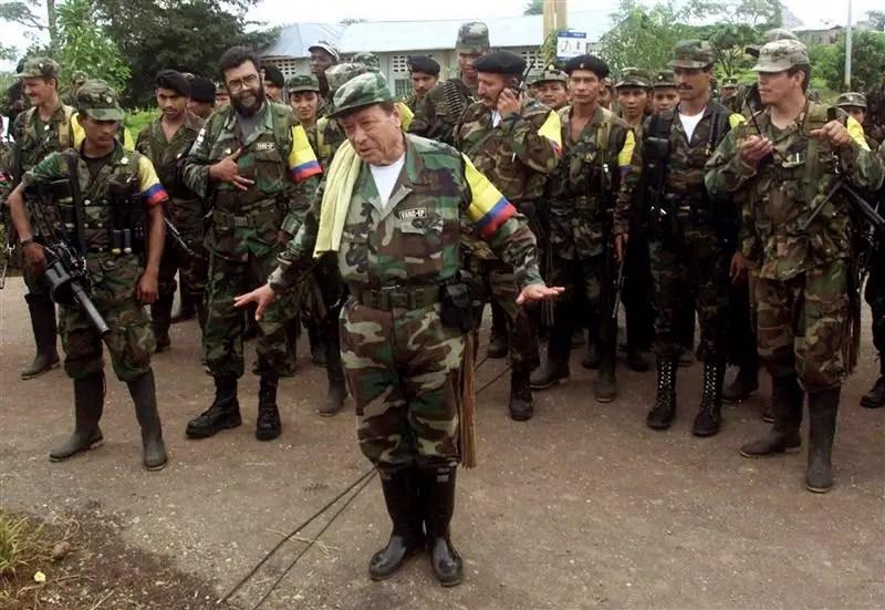 Colombian commander Manuel
