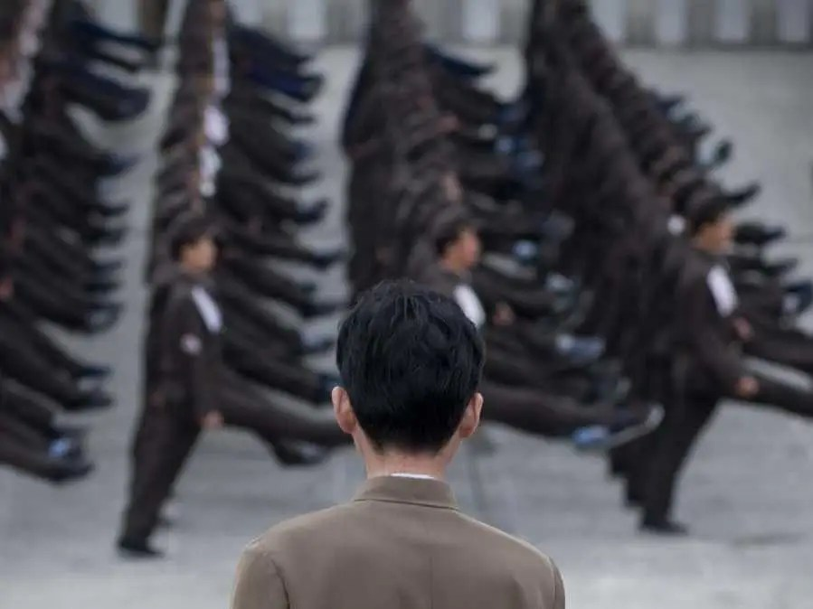 The total amount of people available for military service in North Korea is approximately equal to the population of Senegal.