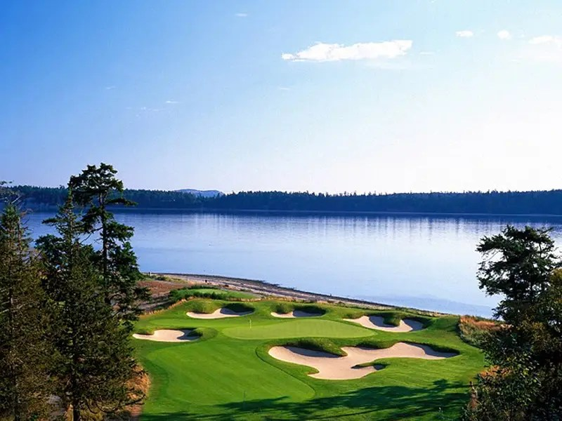 The course was designed by legendary golfer Jack Nicklaus.