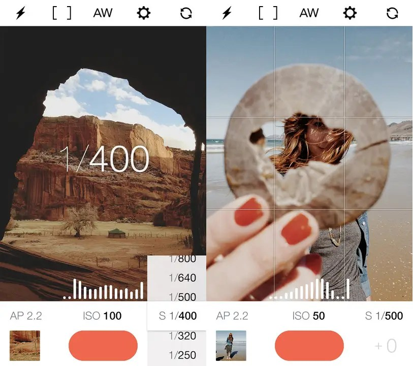 Manual gives photography experts full access to all of your camera's settings.