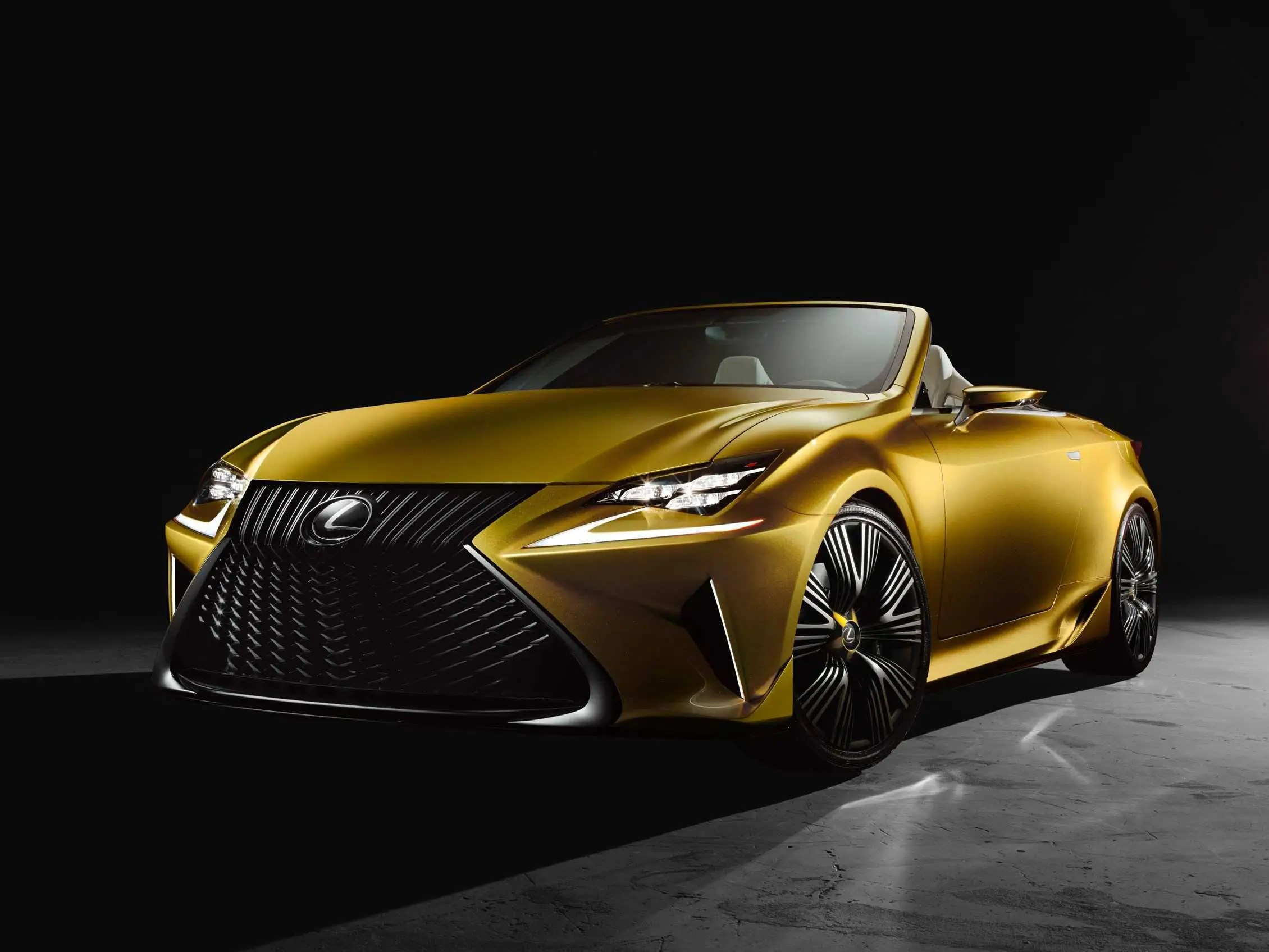 Lexus LF C2 Concept Debuts At 2014 LA Auto Show Now Dealers