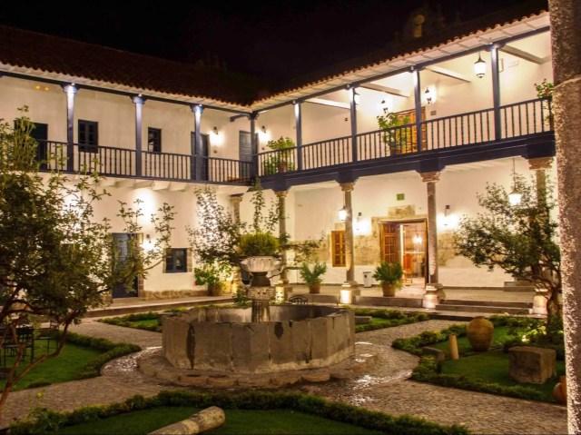 5. Belmond Palacio Nazarenas, Cusco, Peru