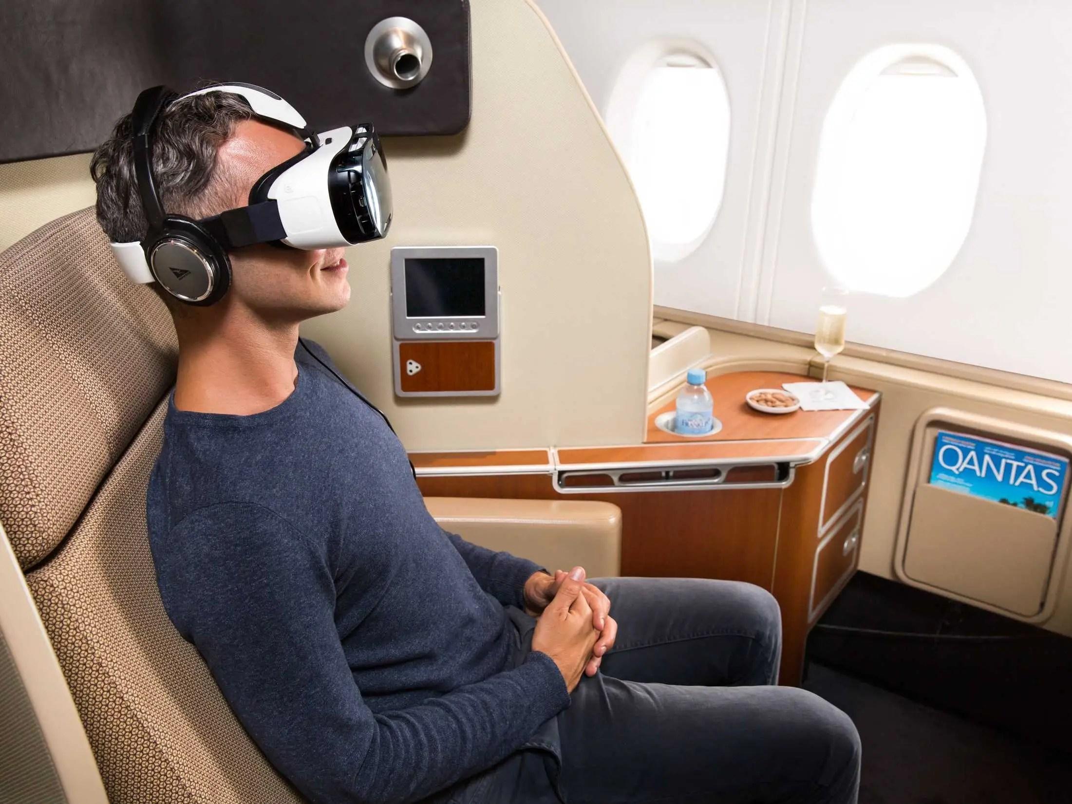 Samsung Gear VR virtual reality plane