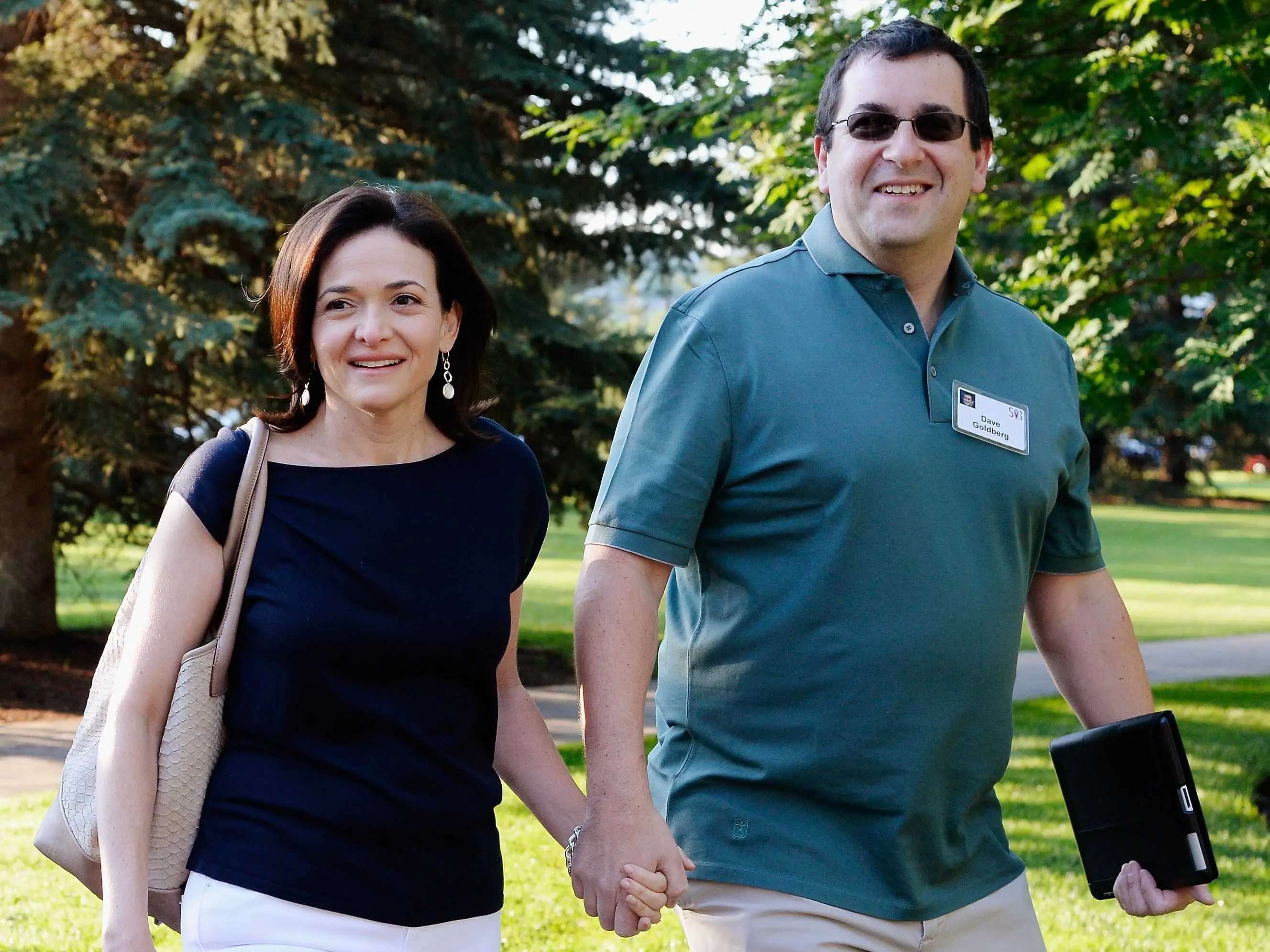 Facebook's Sheryl Sandberg is married to SurveyMonkey CEO Dave Goldberg.