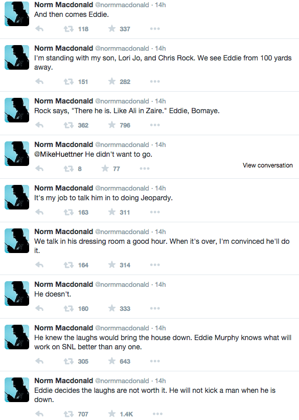 Norm MacDonald tweets 12