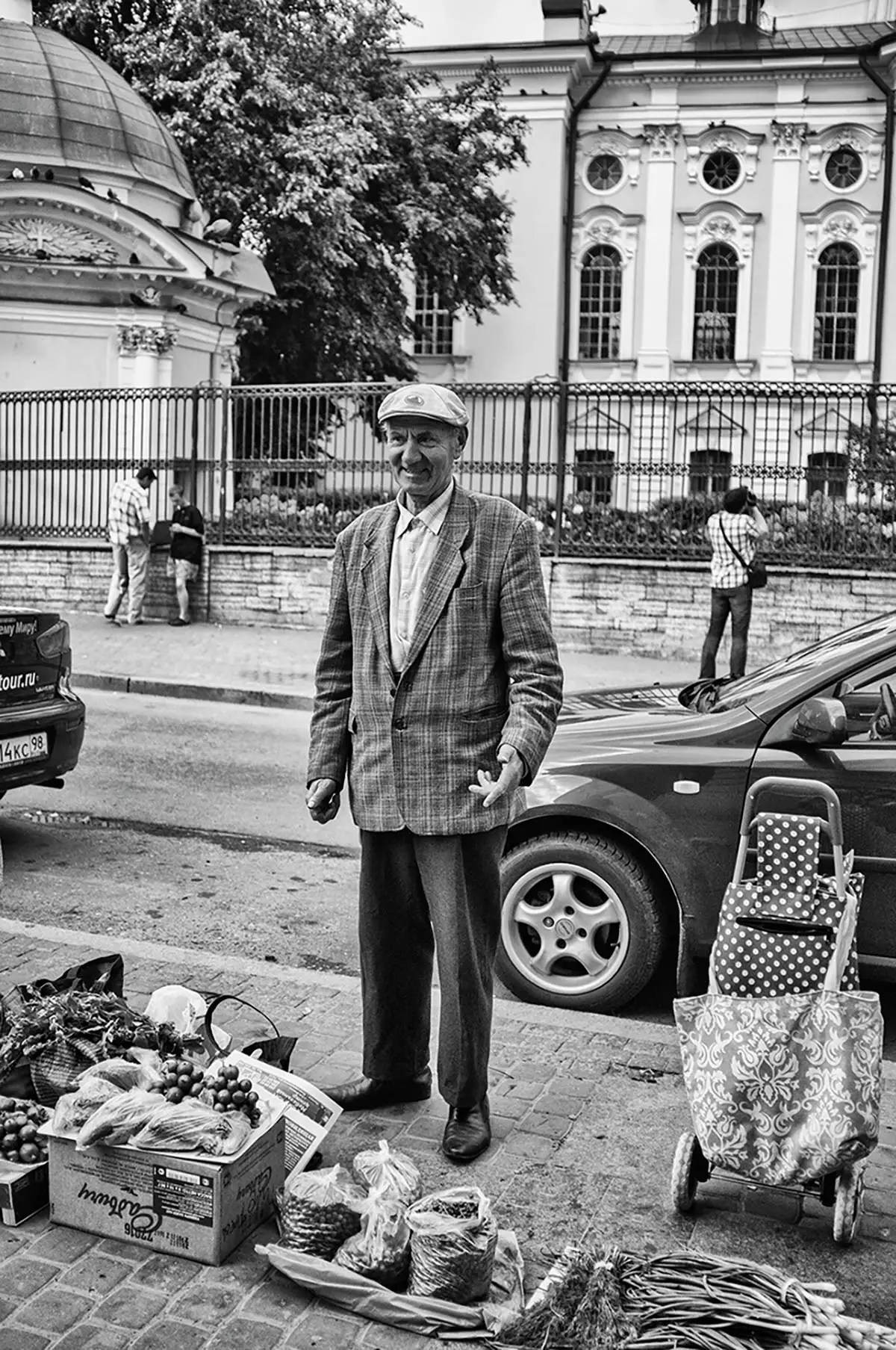 "Victor, age 72. Profession: Driver. Passion or Dream: ""I would like to have an interesting life, more money, and to go to the Black Sea. I would also like to have a place form where I can trade."""