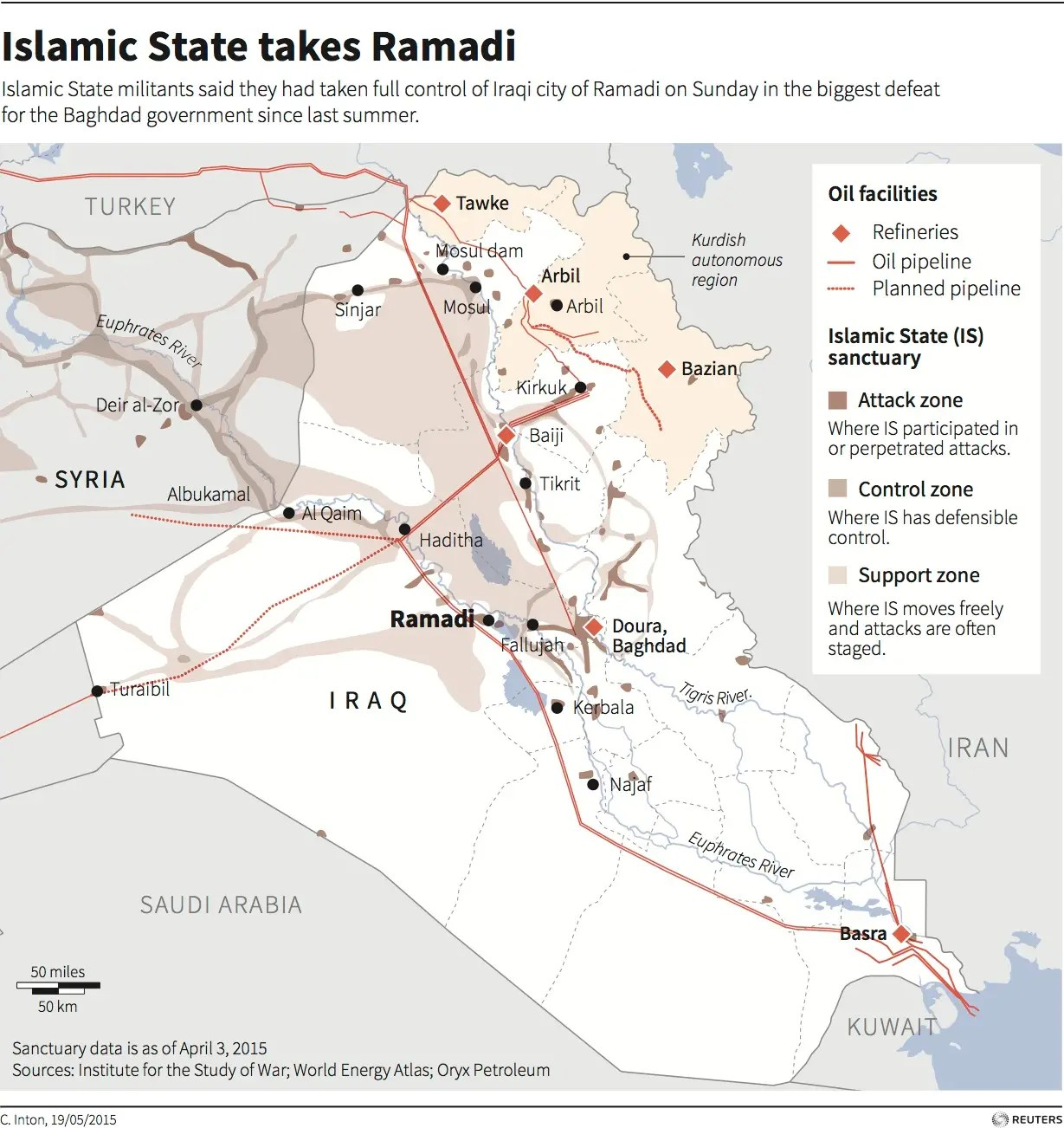 ramadi map reuters