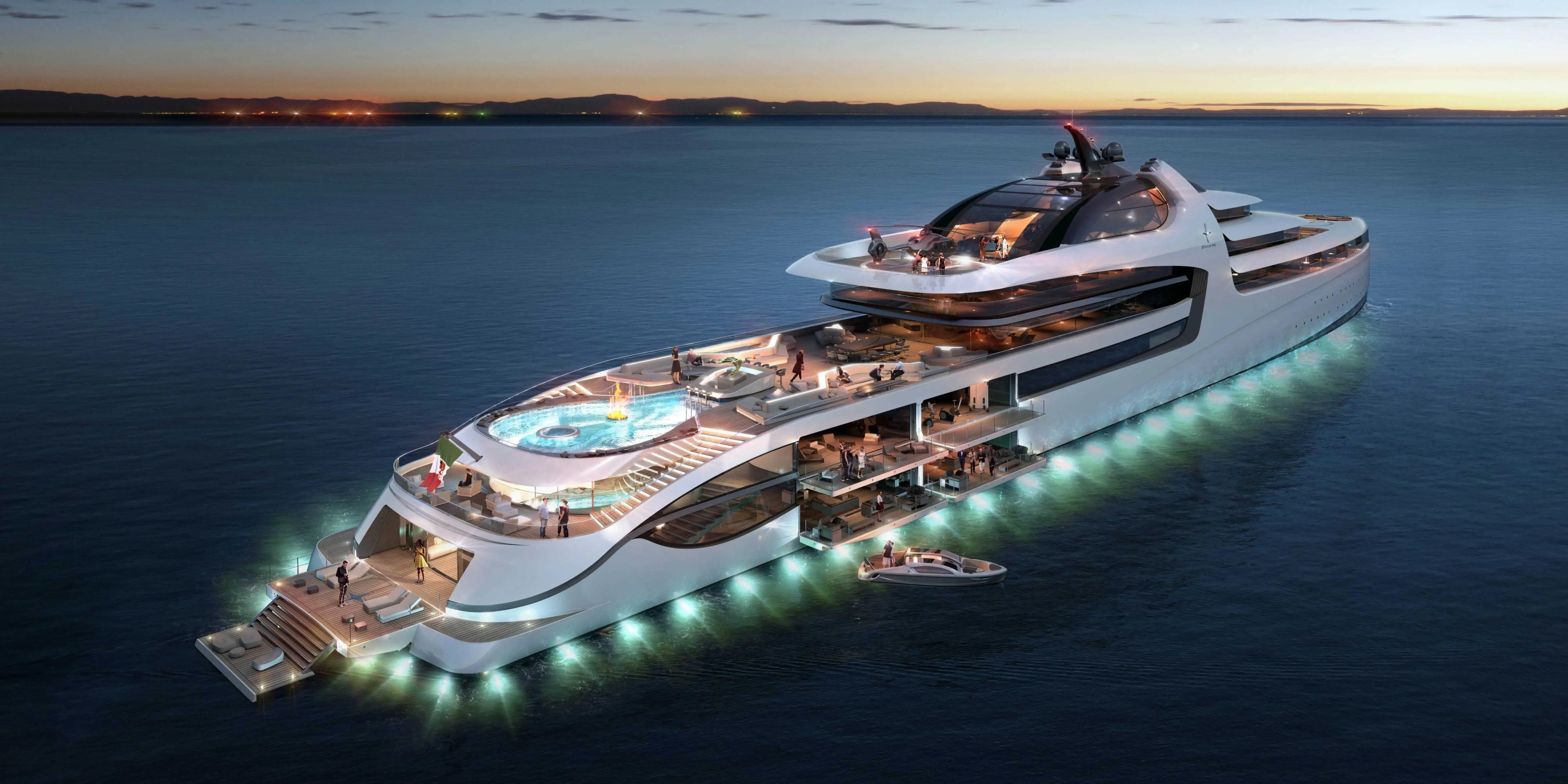 Admiral X Force 145 Could Be Worlds Most Expensive Yacht