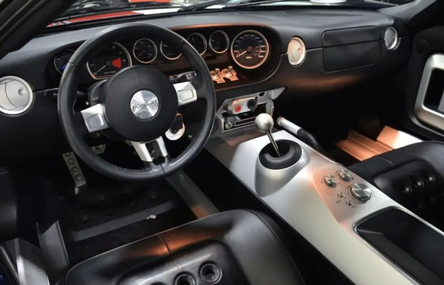 Here's a shot of the GT's interior.