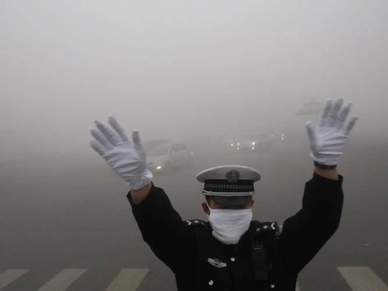 In 2014, China launched a war on pollution, vowing to cut down on hazardous emissions of PM 2.5. It's hard to do that amid a growing economy, but so far, Beijing has been able to shut down coal plants within city limits, and has tried to curb car emissions by limiting the number of license plates.