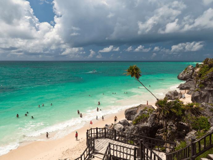 as praias mais bonitas do mundo tulum mexico